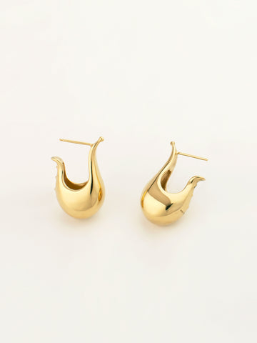 Ophelia Earrings Vermeil