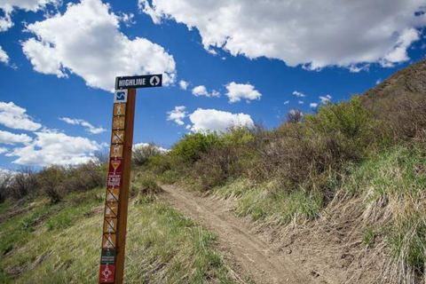 highline mountain bike trail snowmass colorado