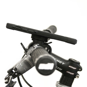 bike phone mount in black