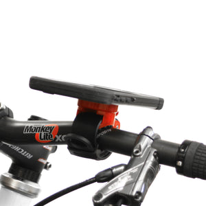 iphone 6 plus bike mount, mounted on handlebars