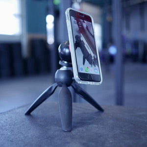 smartphone tripod for use in the gym