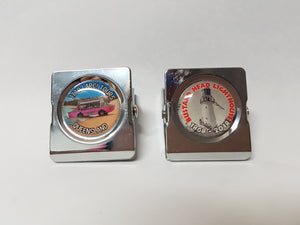 Metal Clip Fridge Magnet