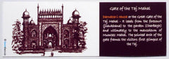 Taj Mahal Gate Bookmark