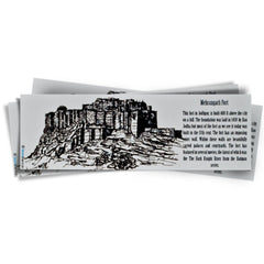 Mehrangarh Fort Bookmark