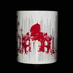 Taj Mahal Souvenir, Taj Decoration Mug