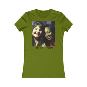 Women's Favorite Tee-T-Shirt-Printify-Leaf-S-MAK Kouture