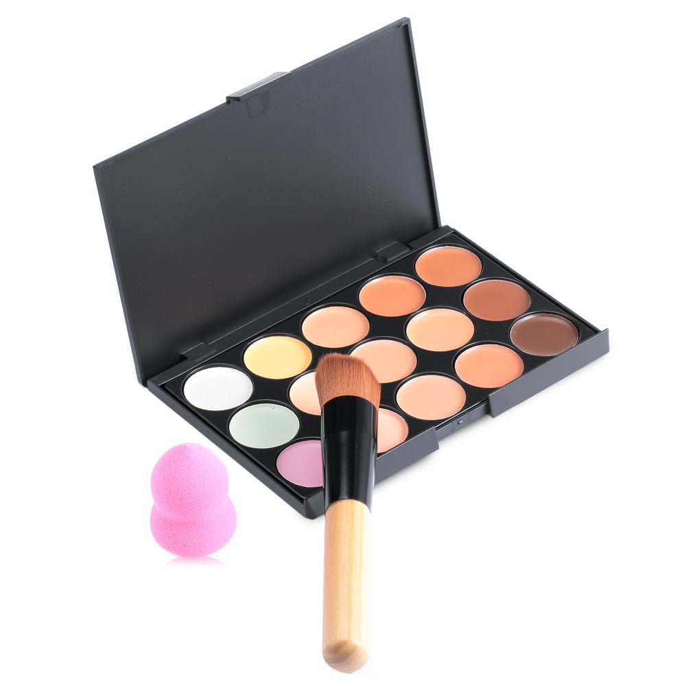 15 Colors Concealer Palette Makeup