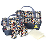 Mommy's Diaper Bag 5 Piece Set, Diaper bag set, eprolo - MAK Kouture