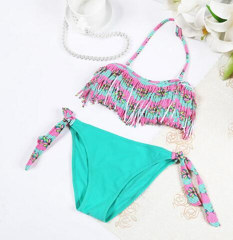 Tassel Bikini For Girls, , eprolo - MAK Kouture