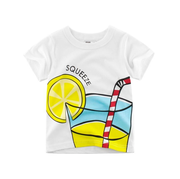 Toddler & Children's Unisex Lemonade T-Shirt (3T-8y), children's t-shirt, MAK Kouture - MAK Kouture