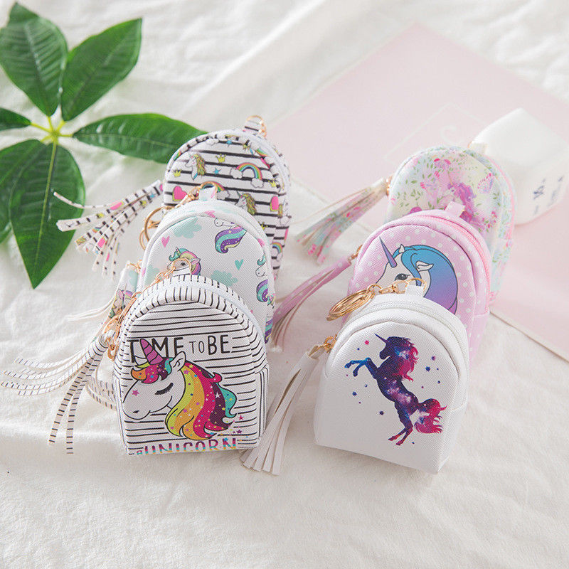 Unicorn Pack Pack Coin Purse, purse, MAK Kouture - MAK Kouture