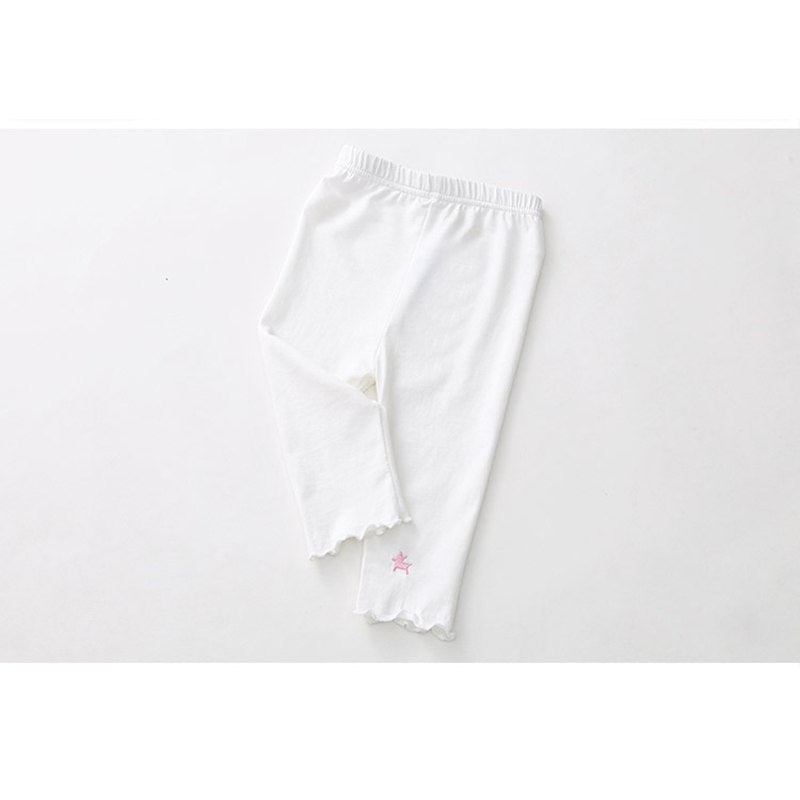 Girl's Embroidered Leggings (3T-9Y), Girl's clothing, MAK Kouture - MAK Kouture