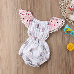 Girls Sleeveless Easter Rabbit Tassel Romper, Girls clothing, MAK Kouture - MAK Kouture