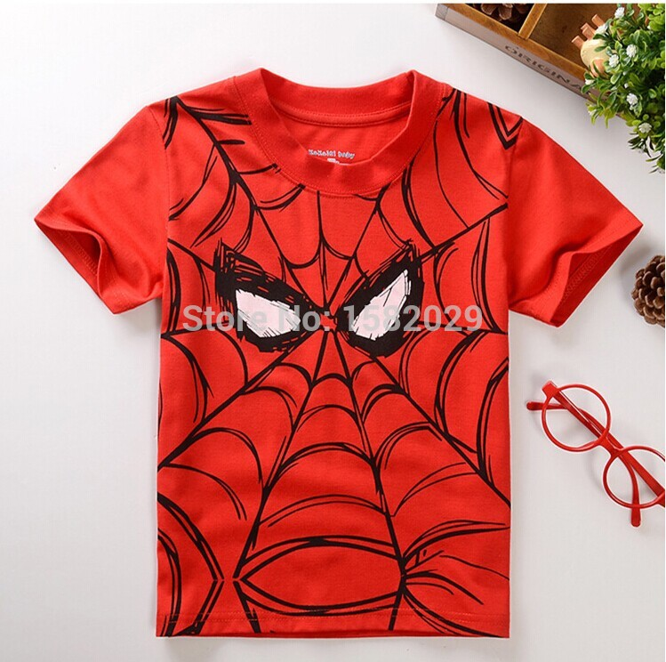 Boy's Spidey & Superman  T-Shirt (2T-8Y), Boy's Clothes, MAK Kouture - MAK Kouture