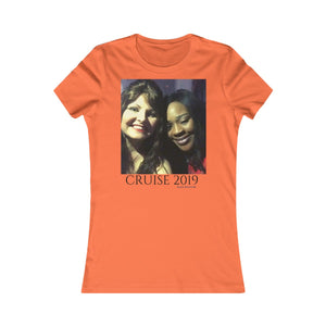 Women's Favorite Tee-T-Shirt-Printify-Orange-S-MAK Kouture