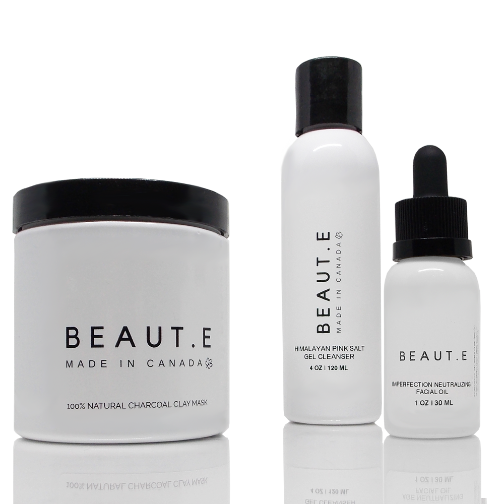 Blemish Neutralizing Skincare Bundle, Bath & Beauty, Grey Felix - MAK Kouture