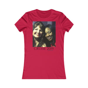 Women's Favorite Tee-T-Shirt-Printify-Red-S-MAK Kouture