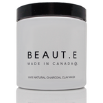 Charcoal Clay Mask 100% natural, Bath & Beauty, Grey Felix - MAK Kouture