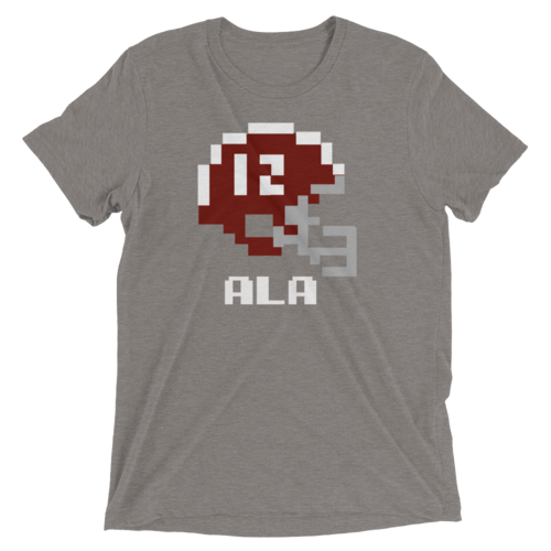 Alabama | Tecmo Bowl Shirt, Men's Clothing, Silver Charlie - MAK Kouture