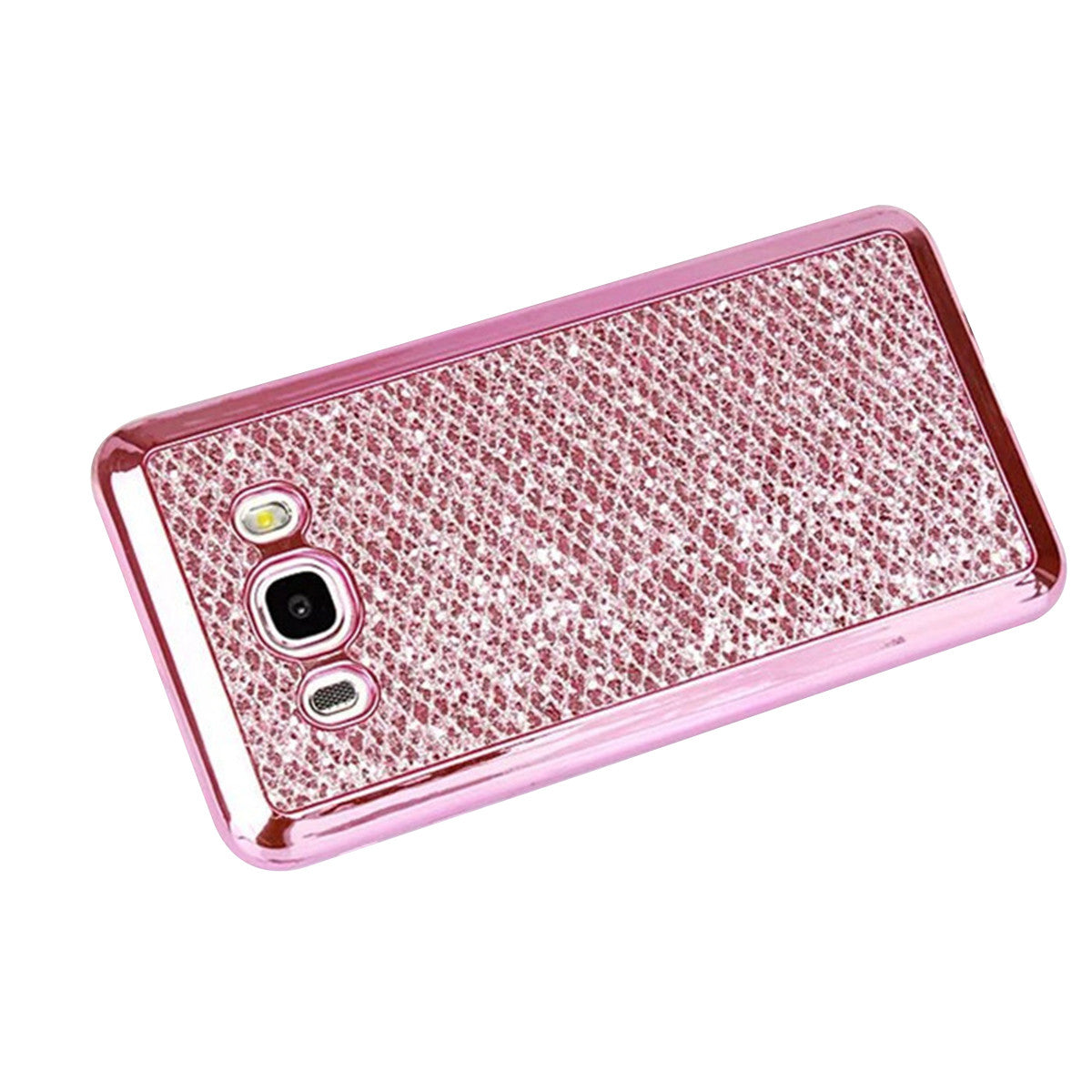 Samsung Galaxy S9 Phone Cover Slim TPU Case Electroplating Frame Glitter Powder Soft Protector Shell for Samsung Galaxy S9, phone case, MAK Kouture - MAK Kouture