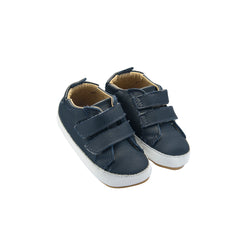 OLD SOLES BAMBINI MARKERT - NAVY WHITE