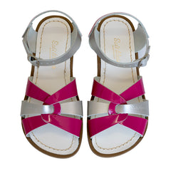 SALT WATER MASH UP KIDS - FUCHSIA SILVER