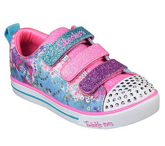 SKECHERS SPARKLE LITE YOUTH - RAINBOW