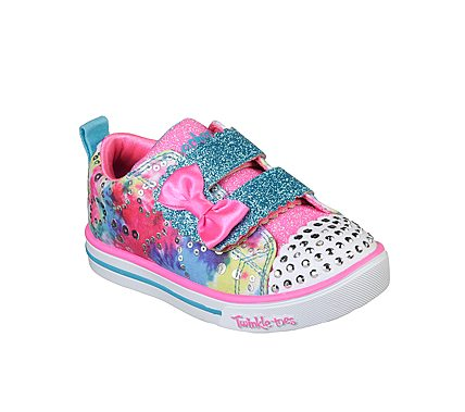 SKECHERS SPARKLE LITE INFANT - RAINBOW