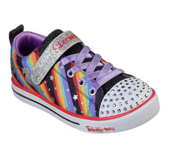 SKECHERS SPARKLE LITE YOUTH - MAGICAL RAINBOW