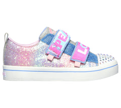 SKECHERS TWI-LITES 2.0 SPARKLE VIBES - LIGHT BLUE