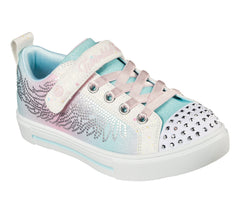 SKECHERS TWINKLE SPARKS WINGED MAGIC YOUTH - WHITE MULTI