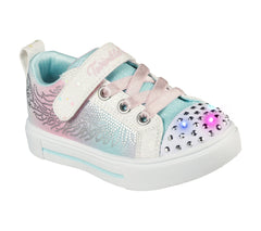 SKECHERS TWINKLE SPARKS WINGED MAGIC INFANT - WHITE MULTI