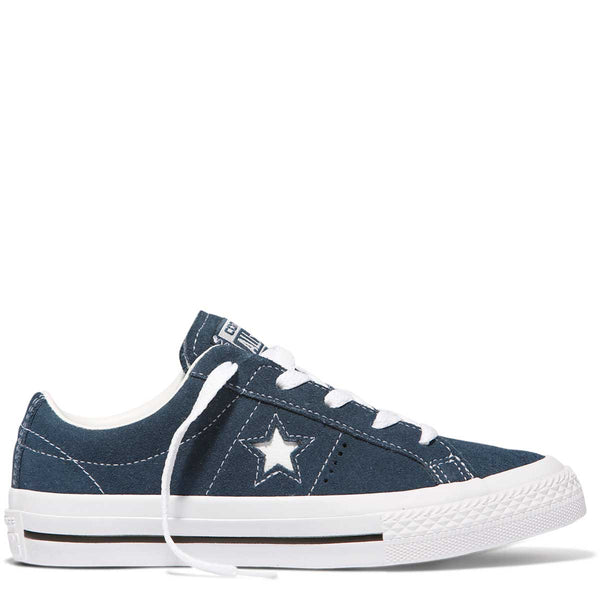 CONVERSE ONE STAR LACE - NAVY