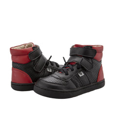 OLD SOLES TOP LOUIS - BLACK RED
