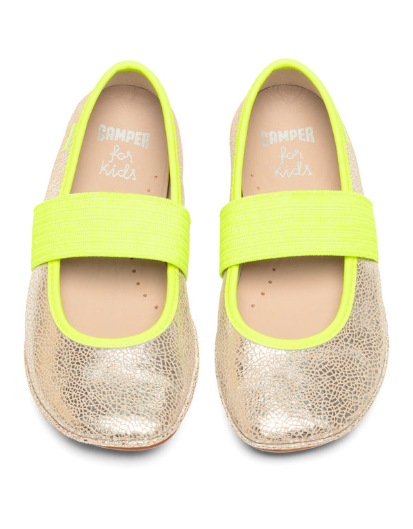CAMPER BALLET - SILVER YELLOW