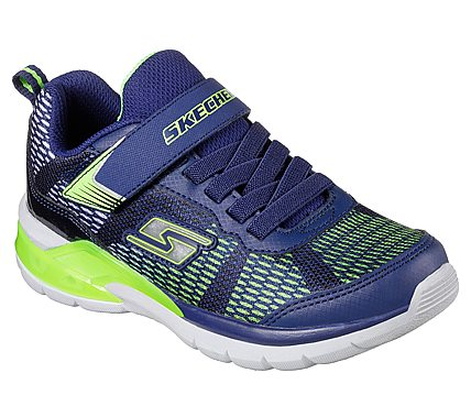 SKECHERS MICROSPEC - NAVY LIME