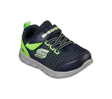 SKECHERS COMFY FLEX - NAVY LIME