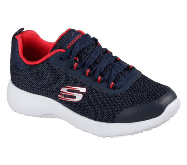 SKECHERS TURBO DASH DYNAMIGHT - NAVY RED