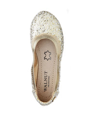 WALNUT CATIE FRECKLE BALLET - GOLD