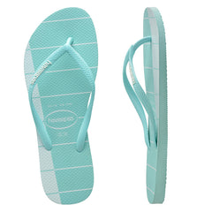 HAVAIANAS SLIM TRIO ADULTS - ICE BLUE