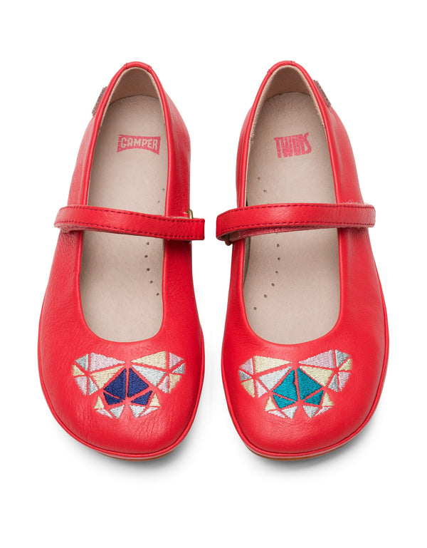 CAMPER TWINS MARY JANE - RED