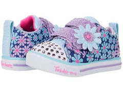 SKECHERS SPARKLE LITE MINI BLOOMS - DENIM