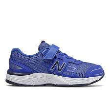 NEW BALANCE 680 VELCRO - BLUE