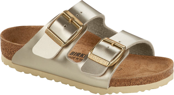 BIRKENSTOCK ARIZONA KIDS - METALLIC GOLD