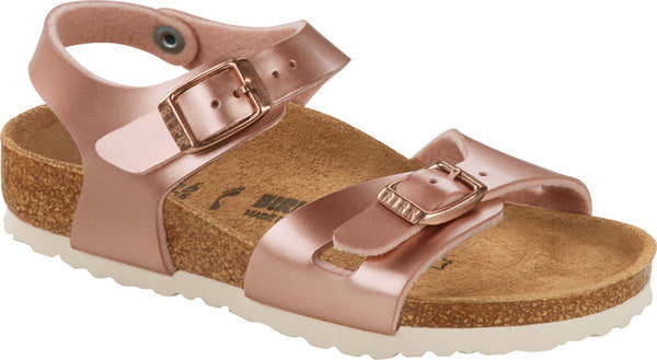 BIRKENSTOCK RIO KIDS  - ELECTRIC METALLIC COPPER