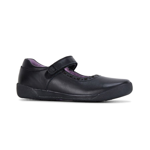 CLARKS BOW G FIT - BLACK