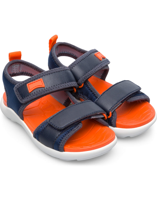 CAMPER WOUS SANDAL - NAVY ORANGE