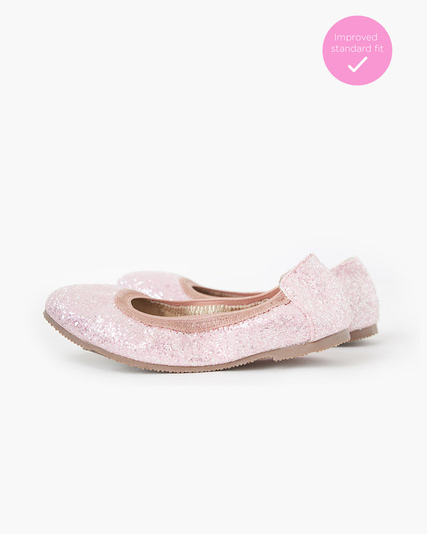 WALNUT CATIE FRECKLE BALLET - NEW PINK