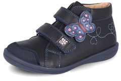 GARVALIN BUTTERFLY SHORT BOOT - NAVY