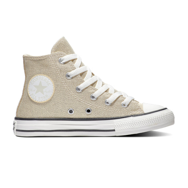 CONVERSE CT SUMMER SPARKLE HI BOOT - GOLD